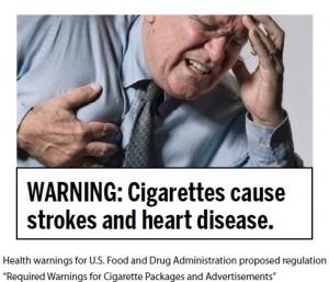Proposed FDA Cigarette Health Warnings